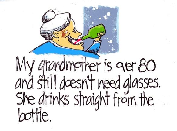 Grandma Bottle