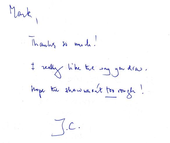 John Cleese Message