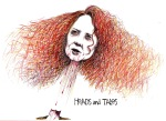 Rebekah Brooks Illustration