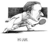 Rod Laver Illustration