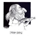 Stephane Grappelli Illustration