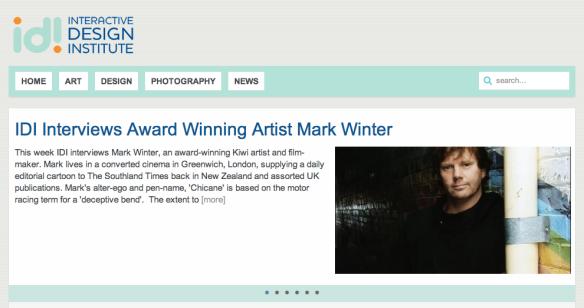 IDI Interviews Mark Winter