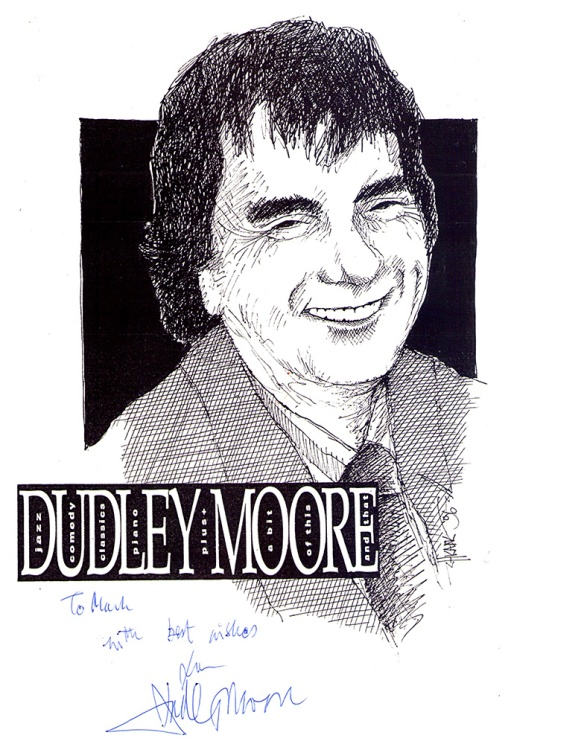 Dudley Moore Drawing