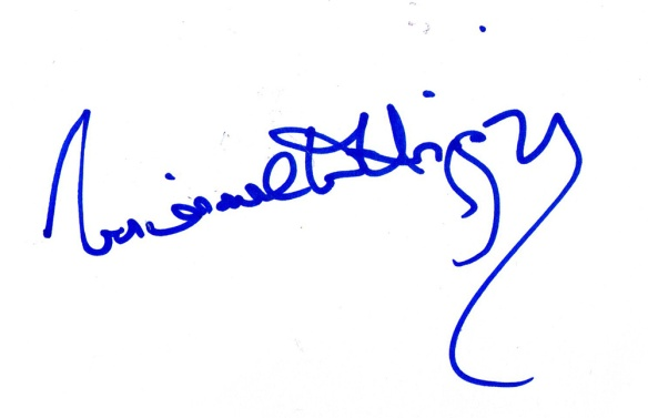 Michael D Higgins Signature