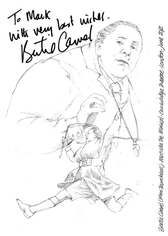 Bertie Carvel