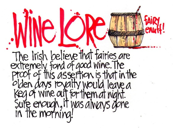 Wine Lore Irish Fairy