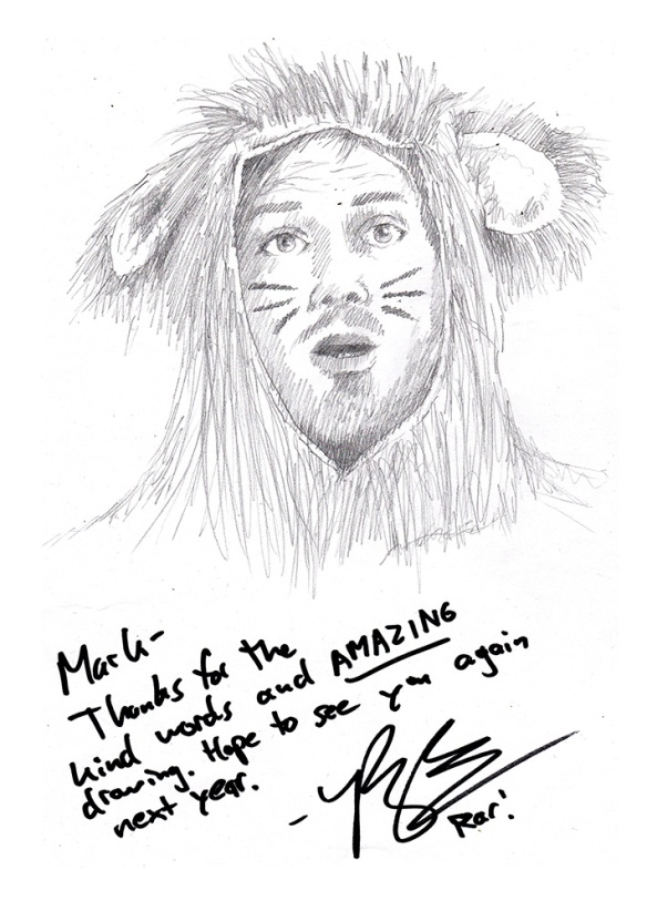 Ryan the bisexual lion