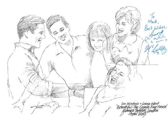 Lorna Want and Ian McIntosh in Beautiful