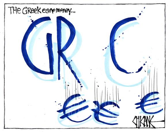 greek eco no money