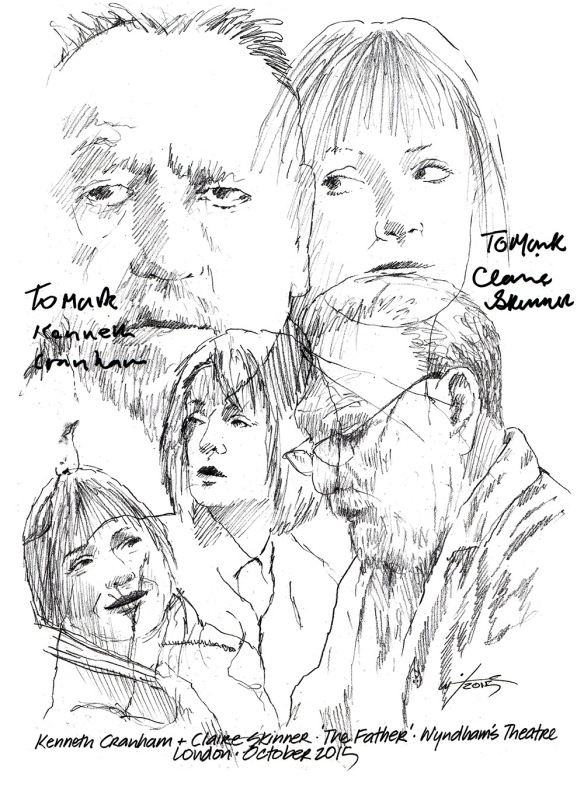 Kenneth Cranham Claire Skinner The Father
