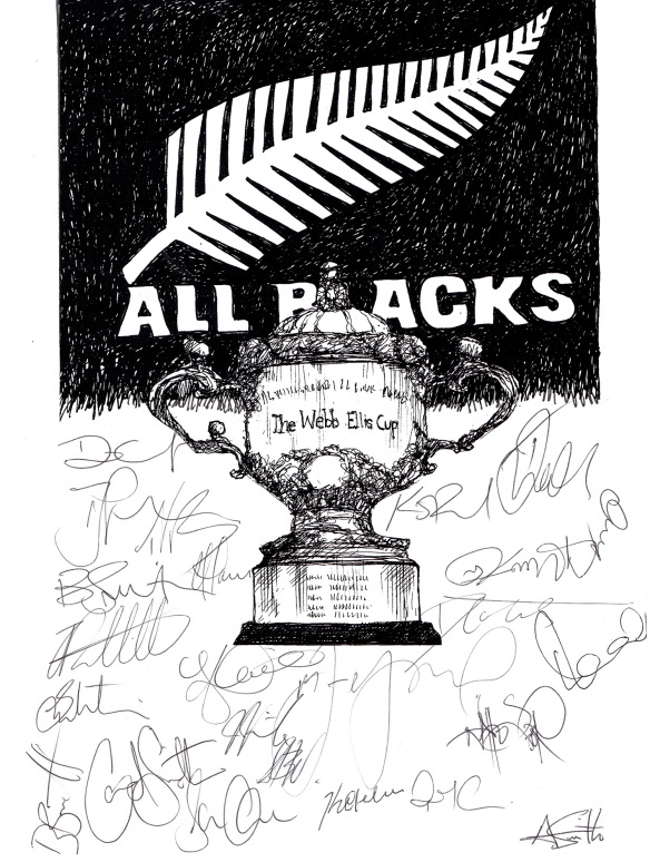 all blacks team sigs