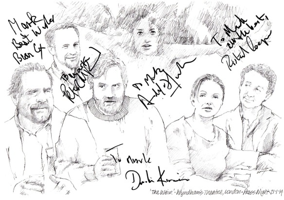 The Weir Full Cast