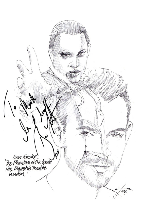 Ben Forster The Phantom of the Opera