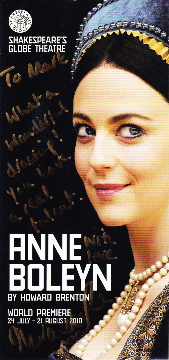 Anne Boleyn Flyer