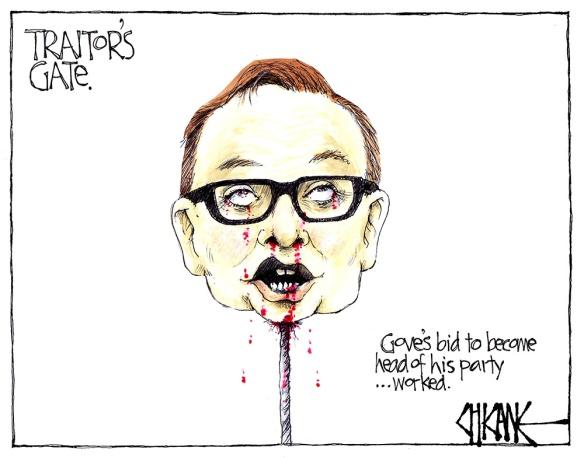 gove traitors gate