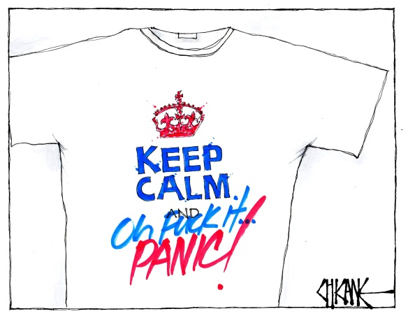 Keep Calm and Panic