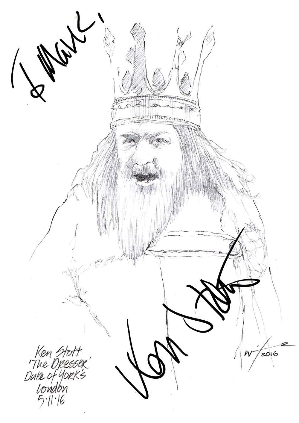 Revival Of A Fading Handloom Tradition The Khun: Drawing: Ken Stott As King Lear In The Dresser