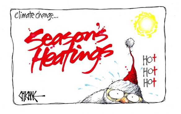 Season's Heatings Cartoon