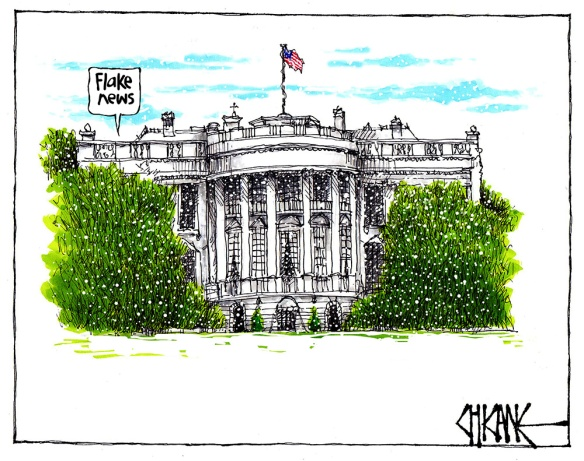 The White House - Flake News
