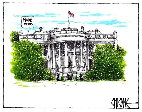 The White House - Flake News