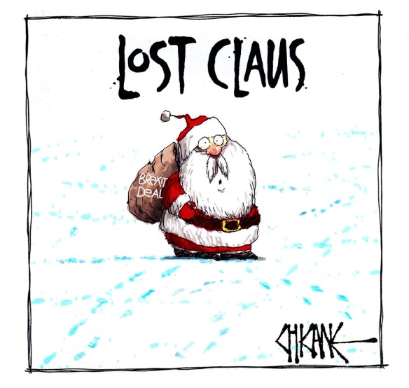Lost Claus Cartoon