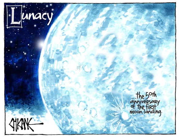 Lunacy - the fiftieth anniversary of the first moon landing